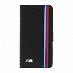 BMW Funda Tipo Libro Universal Carbono Negra M