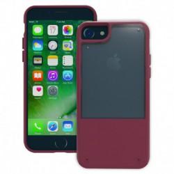 Trident Funda Protectora Fusion Roja Plum para iPhone 7